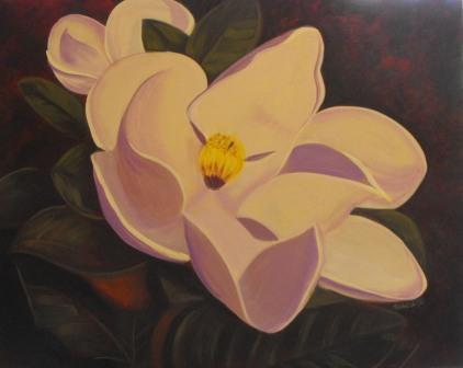 Flower Painting - Magnolia
